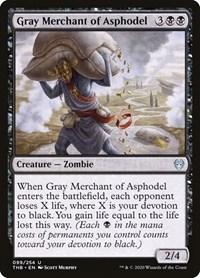 Gray Merchant of Asphodel, Magic: The Gathering, Theros Beyond Death