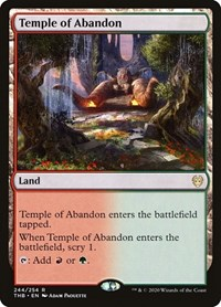 Temple of Abandon, Magic: The Gathering, Theros Beyond Death