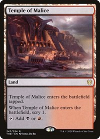 Temple of Malice, Magic: The Gathering, Theros Beyond Death