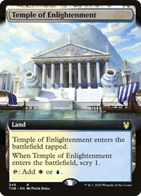 Temple of Enlightenment (Extended Art), Magic: The Gathering, Theros Beyond Death