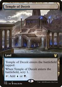 M-NM NBP MTG Theros Beyond Death Rare Temple of Deceit