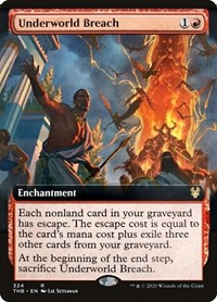 Underworld Breach (Extended Art), Magic: The Gathering, Theros Beyond Death
