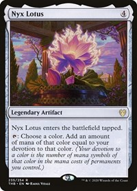 Nyx Lotus, Magic: The Gathering, Theros Beyond Death