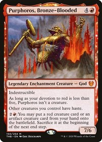Purphoros, Bronze-Blooded, Magic: The Gathering, Theros Beyond Death