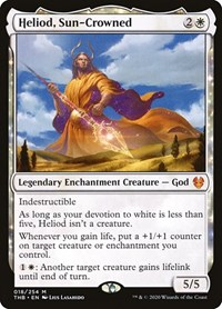 Heliod, Sun-Crowned, Magic: The Gathering, Theros Beyond Death