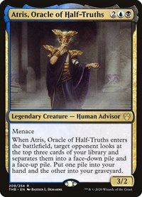 Atris, Oracle of Half-Truths, Magic: The Gathering, Theros Beyond Death