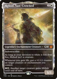 Heliod, Sun-Crowned (Showcase), Magic: The Gathering, Theros Beyond Death