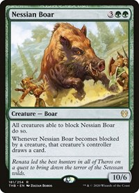 Nessian Boar, Magic: The Gathering, Theros Beyond Death