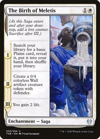 The Birth of Meletis, Magic: The Gathering, Theros Beyond Death