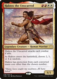 Haktos the Unscarred, Magic: The Gathering, Theros Beyond Death