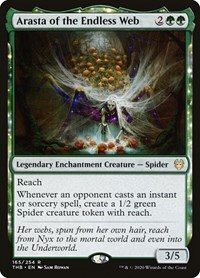 Arasta of the Endless Web, Magic: The Gathering, Theros Beyond Death