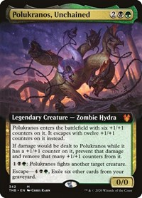 Polukranos, Unchained (Extended Art), Magic: The Gathering, Theros Beyond Death