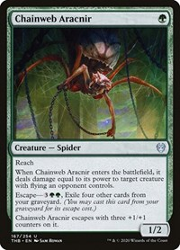 Chainweb Aracnir, Magic: The Gathering, Theros Beyond Death