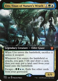 Uro, Titan of Nature's Wrath (Extended Art) (Foil)