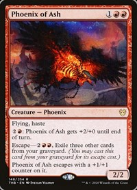 Phoenix of Ash, Magic: The Gathering, Theros Beyond Death
