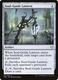 Soul-Guide Lantern, Magic: The Gathering, Theros Beyond Death