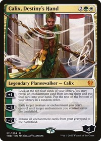 Calix, Destiny's Hand, Magic: The Gathering, Theros Beyond Death