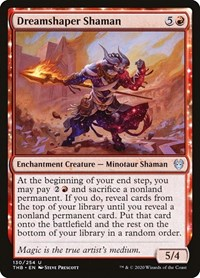 Dreamshaper Shaman, Magic, Theros Beyond Death