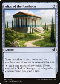 Altar of the Pantheon, Magic: The Gathering, Theros Beyond Death