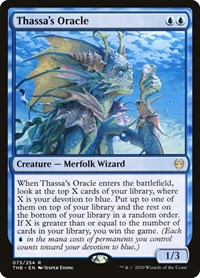 Thassa's Oracle, Magic: The Gathering, Theros Beyond Death