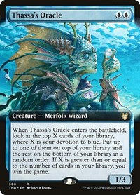 Thassa's Oracle (Extended Art) (Foil)