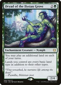 Dryad of the Ilysian Grove, Magic: The Gathering, Theros Beyond Death