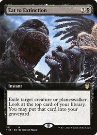 Eat to Extinction (Extended Art), Magic: The Gathering, Theros Beyond Death