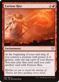 Furious Rise, Magic: The Gathering, Theros Beyond Death