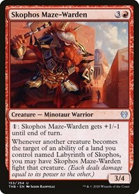 Skophos Maze-Warden, Magic, Theros Beyond Death