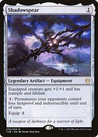 Shadowspear, Magic: The Gathering, Theros Beyond Death