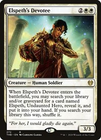 Elspeth's Devotee, Magic: The Gathering, Theros Beyond Death