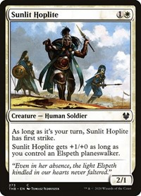 Sunlit Hoplite, Magic: The Gathering, Theros Beyond Death