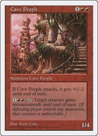 Cave People, Magic: The Gathering, Fifth Edition
