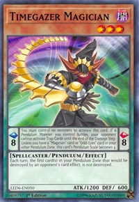 Timegazer Magician, YuGiOh, Legendary Duelists: Magical Hero