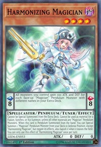 Harmonizing Magician, YuGiOh, Legendary Duelists: Magical Hero