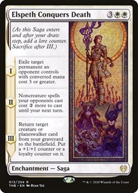 Elspeth Conquers Death, Magic: The Gathering, Theros Beyond Death