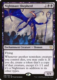 Nightmare Shepherd, Magic: The Gathering, Theros Beyond Death