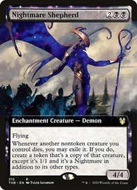Nightmare Shepherd (Extended Art), Magic: The Gathering, Theros Beyond Death