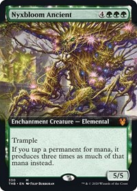 Nyxbloom Ancient (Extended Art), Magic: The Gathering, Theros Beyond Death