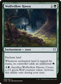 Wolfwillow Haven, Magic: The Gathering, Theros Beyond Death