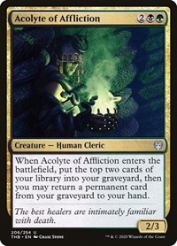 Acolyte of Affliction, Magic: The Gathering, Theros Beyond Death