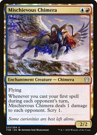 Mischievous Chimera, Magic: The Gathering, Theros Beyond Death