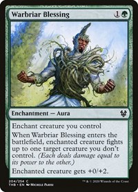 Warbriar Blessing, Magic, Theros Beyond Death