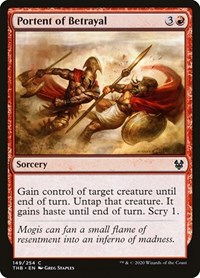 Portent of Betrayal, Magic: The Gathering, Theros Beyond Death