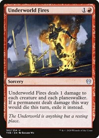 Underworld Fires, Magic: The Gathering, Theros Beyond Death