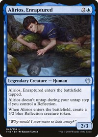 Alirios, Enraptured, Magic: The Gathering, Theros Beyond Death