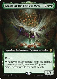 Arasta of the Endless Web (Extended Art), Magic: The Gathering, Theros Beyond Death