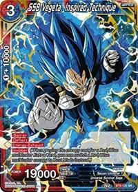 SSB Vegeta, Inspired Technique, Dragon Ball Super CCG, Universal Onslaught