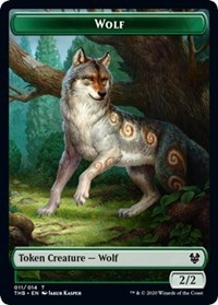 Wolf Token, Magic: The Gathering, Theros Beyond Death