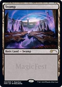 Swamp (2020), Magic: The Gathering, MagicFest Cards